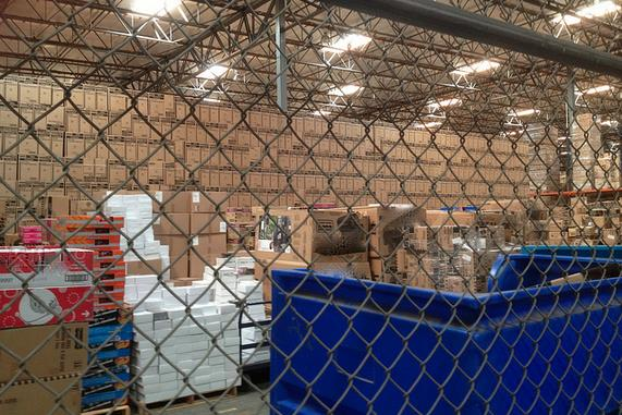 Most blue-collar warehouse jobs typically pay less than a living wage, are often temporary, and do not provide health-care benefits.