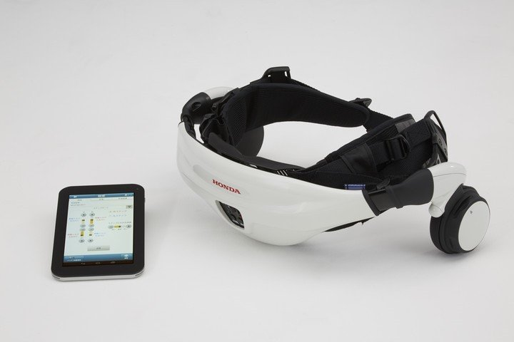 Honda Walking Assist Device is a lightweight yet extremely helpful device, which will become new tool for rehabilitation and therapy. Image credit: hondanews.com