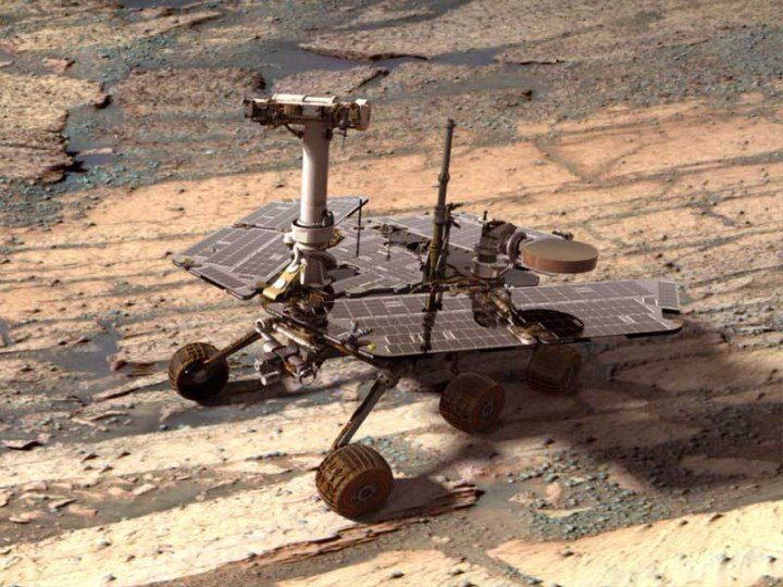 Opportunity Rover. Credit: NASA