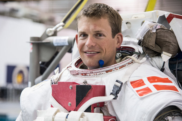 ESA astronaut Andreas Mogensen will board the Soyuz TMA-18M flight to the International Space Station in September 2015. Copyright ESA