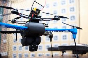 Dinuka Abeywardena's drone navigates by using a camera, rather than GPS. Photo: Andrew To