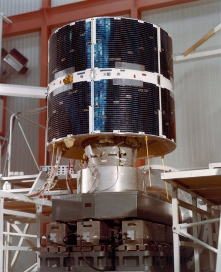 COS-B, 1975-1982, Europe's pioneer gamma-ray observatory. Copyright ESA