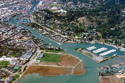 San Rafael's Canal area comes under examination as gentrification and displacement pressures affect the neighborhood. Image credit: Urban Displacement Project