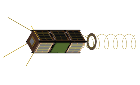 Led by Gomspace in Denmark, GOMX-3 is a 3-unit CubeSat mission to demonstrate aircraft ADS-B signal reception and geostationary telecommunication satellite spot beam signal quality using an L-band reconfigurable software defined radio payload. A miniaturised high data rate X-band transmitter developed by Syrlinks and funded by the French space agency CNES will also be flown as a third party payload. The satellite is planned to be deployed from the International Space Station in late 2015 by ESA astronaut Andreas Mogensen. Copyright ESA