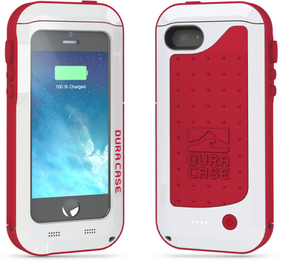 DURA CASE 5 for iPhone 5/5s/5c. The version for iPhone 6 looks almost identical, but thinner.