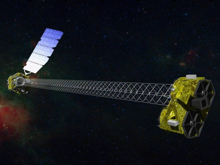 The Nuclear Spectroscopic Telescope Array (NuSTAR), launched in 2012, is an Explorer mission that allows astronomers to study the universe in high energy X-rays. Credits: NASA/JPL-Caltech