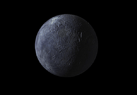 Artist's impression of the Trans-Neptunian Object (TNO) 90482 Orcus. Credit: NASA