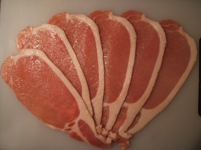 Back bacon. Photo credit: Agnellous, Wikimedia Commons