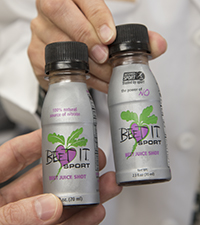 Concentrated beet juice used in the study. Image credit: Robert Boston