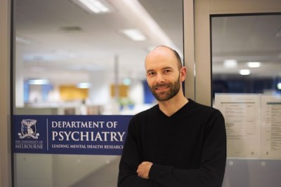 Dr Chad Bousman has conducted the first longitudinal study to look at how a certain gene can influence a person's sensitivity to their environment. Photo credit: The University of Melbourne