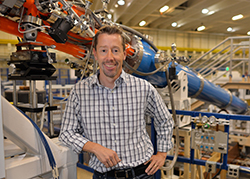 Sandia National Laboratories physicist Marcus Knudson at Sandia's Z machine has accepted a joint appointment with Washington State University.