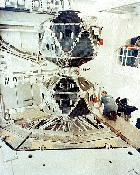 A Vela payload in the lab. Image credit: The U.S. Department of Defense