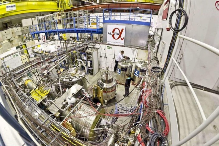 The ALPHA experiment, one of five experiments that are studying antimatter at CERN (Image: Maximilien Brice/CERN)