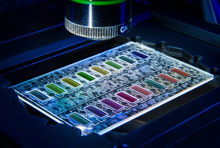 A new technique for analyzing antibiotic resistance. Image credit: Volker Lannert, Fraunhofer FIT