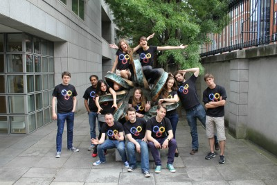The Trinity iGEM team that secured a Gold Medal for producing an anti-malarial biobrick. Photo credit: Trinity College Dublin