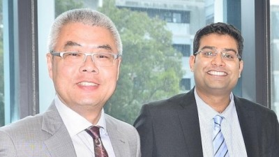 Professor Sean Li and Dr Adnan Younis from UNSW's School of Materials Science and Engineering. Image courtesy of UNSW