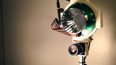 HyperCam is a low-cost hyperspectral camera developed by UW and Microsoft Research that reveals details that are difficult or impossible to see with the naked eye. Image credit: University of Washington