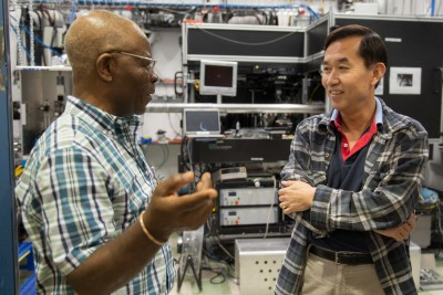 INCREASE members visited Argonne's Advanced Photon Source to network and learn how to submit competitive proposals for their research