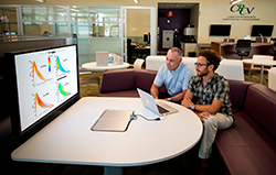 Sandia National Laboratories researchers Joe Oefelein and Guilhem Lacaze discuss their work on scramjet engine simulations. The American Institute of Aeronautics and Astronautics (AIAA) recently recognized their work with a best paper award.