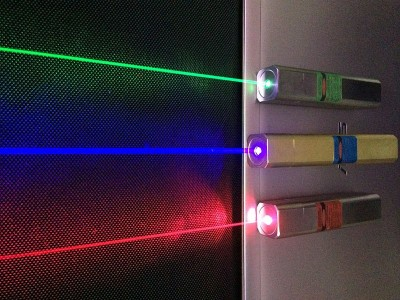 Q-LINE Laser pointers. Image credit: Wikimedia Commons