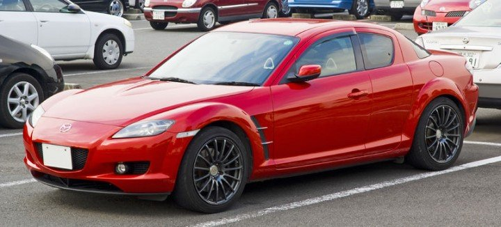 RX-8 was unique in its design and powertrain, which made it really lovable for car enthusiasts. However, its production ended back in 2012 and since then Mazda has not produced a new interpretation of rotary-powered sports car. Image credit: Hatsukari715 via Wikimedia, Public Domain