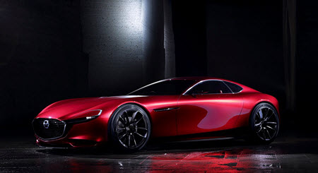 Mazda share only such image of its RX-VISION sports car concept, which is demonstrated in 2015 Tokyo Motor Show. Image credit: www2.mazda.com