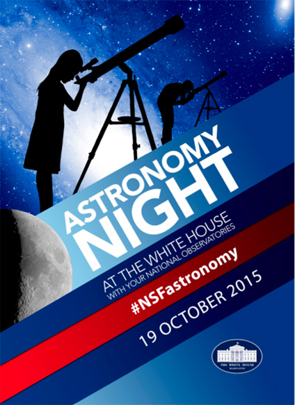 NRAO Attends White House Astronomy Night: