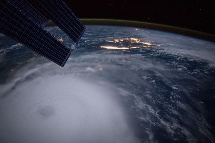 Hurricane Joaquin captured on Oct. 2, 2015 by NASA Astronaut Scott Kelly from the International Space Station. Credit: NASA/Scott Kelly