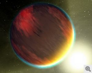 Representative image of a hot Jupiter. Image credit: NASA