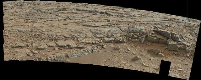Panorama of the part of Mars, from Sol 173. Credit: NASA/JPL/Caltech/Malin Space Science Systems.