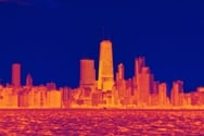 Experts met to discuss the challenges of managing urban heat islands, using the deadly 1995 Chicago heat wave as a case study. Image by Dustin Phillips (Flickr) CC BY-NC-ND 2.0;