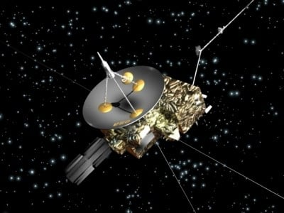 Tiny research objects in focus: one of the missions's goals was to measure interstellar dust particles that make their way into the solar system.Image credit: ESA