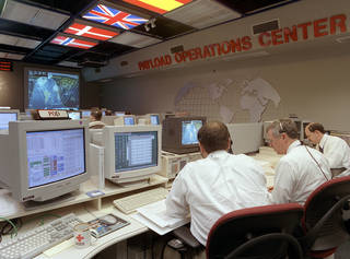 (POC) Payload Operation's Center At Marshall Space Flight Center, In Building 4663