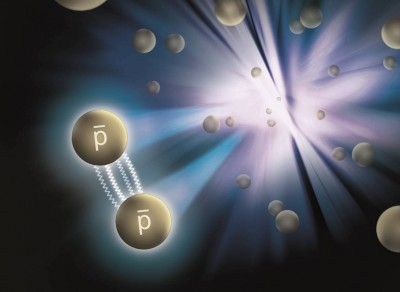 Scientists working at Brookhaven National Laboratory, including physicists at Rice University, have announced the first measurements of the attractive force between antiprotons. The discovery gives physicists new ways to look at the forces that bind matter and antimatter. Image credit: Brookhaven National Laboratory