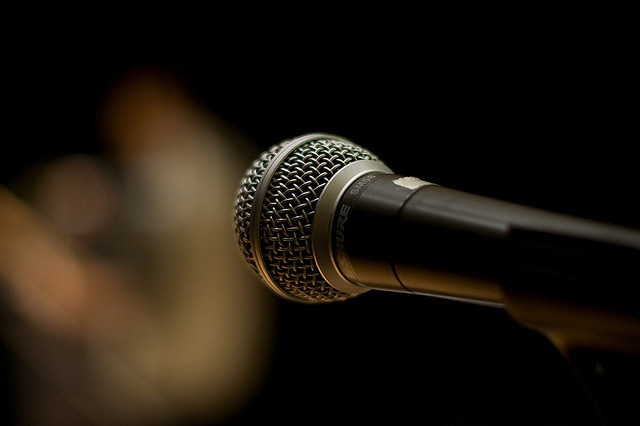 A new, proof-of-concept graphene microphone is up to 32 times more sensitive than a standard, nickel-based one, and could potentially be upgraded to perform far into the ultrasonic part of the spectrum. Image credit: Alex Indigo via flickr.com, CC BY 2.0.