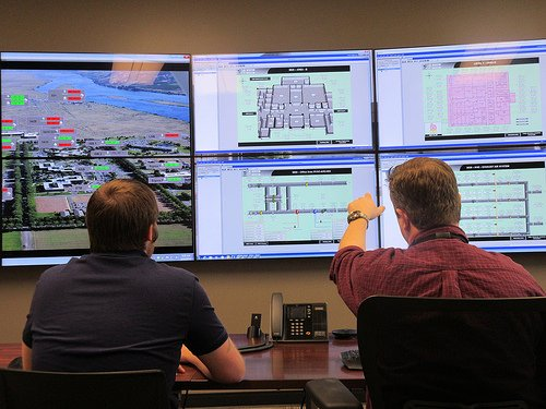 The Building Operations Control Center at PNNL will act as the nerve center monitoring and controlling information on energy usage at multiple campuses in Washington state to research and test transaction based energy usage in and between buildings.
