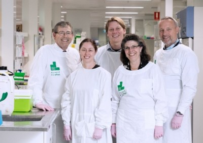 The Children's Cancer Institute research team has discovered a method for targeting the 'Achilles heel' of neuroblastoma. Photo credit: CCI