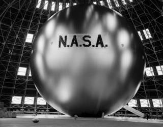 The inspiration behind a potential next-generation occulter disk is Echo 1, a communications satellite launched in 1960. Credits: NASA