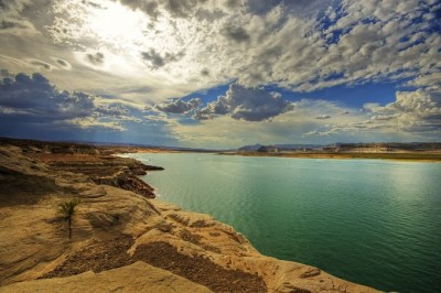 Lake Powell, a reservoir on the Colorado River. Image credit: Rose Marie Curteman.