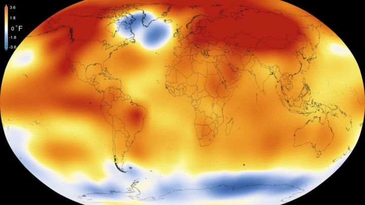 015 was the warmest year since modern record-keeping began in 1880, according to a new analysis by NASA's Goddard Institute for Space Studies. The record-breaking year continues a long-term warming trend — 15 of the 16 warmest years on record have now occurred since 2001. Credits: Scientific Visualization Studio/Goddard Space Flight Center