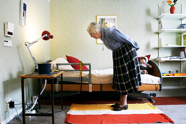 Elderly people entering long-term care homes usually have B12 deficiency, which may lead to anaemia and neurologic problems. Image credit: Magnus Fröderberg/norden.org via Wikimedia, CC BY 2.5 dk