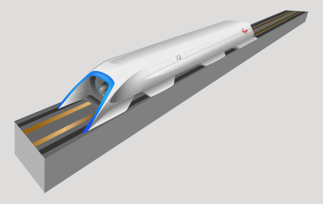 The world's first fully-operational hyperloop system is set to hurtle onto its first journey through Quay Valley, California in 2018. Image credit: Camilo Sanchez via Wikipedia.org, CC BY-SA 4.0.