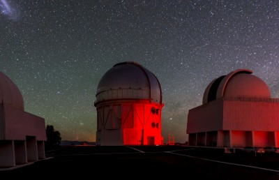 Cerro Tololo Inter-American Observatory in Chile, the home of the Dark Energy Camera. Image credit: Fermilab