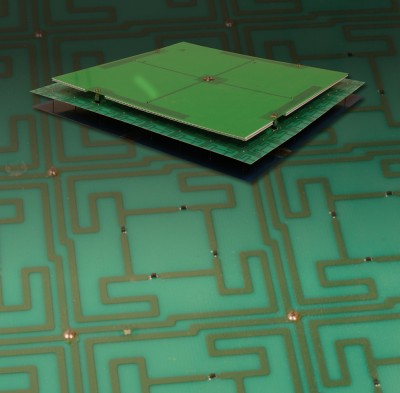 Metamaterial-enabled antenna created by Scarborough and Werner. Image credit: Penn State