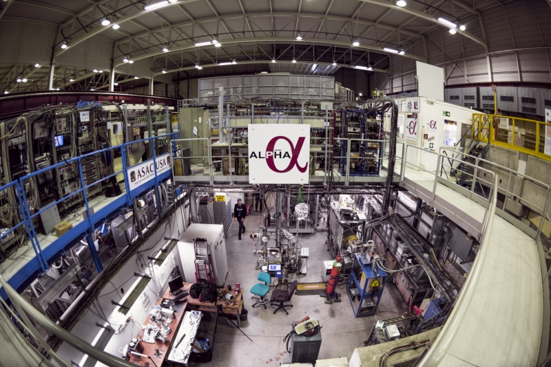 ALPHA experiment shows antihydrogen charge is neutral