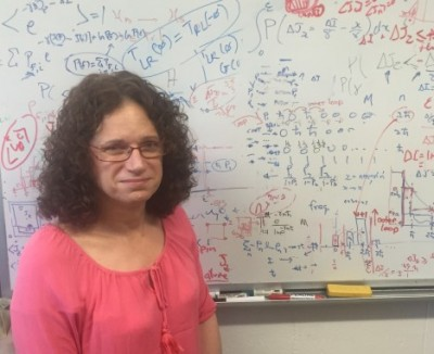 Associate Professor Joan Vaccaro, from Griffith's Centre for Quantum Dynamics. Photo credit: Griffith University