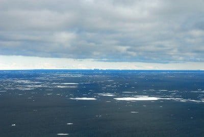 The Southern Ocean is unique among Earth's oceans. Image credit: Robyn Waserman, National Science Foundation.