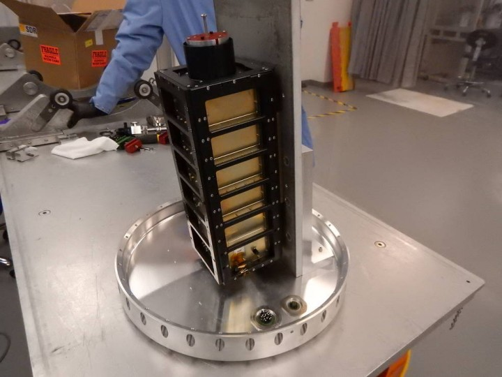 The miniaturized CubeSat payload called both CuPID and WASP returned data about a physical phenomenon called charge exchange. Credits: NASA
