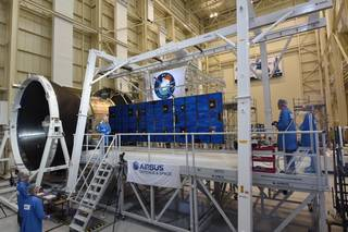 One of Orion's solar arrays was successfully deployed in a Feb. 29 test at NASA Glenn's Plum Brook Station to ensure it can properly unfurl.