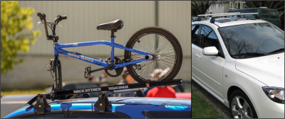 Both loaded and unloaded roof racks create drag, reducing your vehicle's efficiency